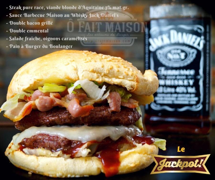 Ô Fait Maison - Burgers et frites maison, Tapas, salade, produits